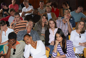 How Do You Handle a Restless Audience?